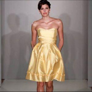 Alfred Angelo Size 4 Dress Silk Bridesmaid Ruffle